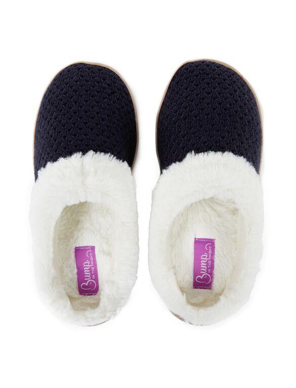 Slide Slippers, Navy