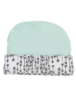 Finn + Emma Organic Reversible Baby Hat, Arrow Print