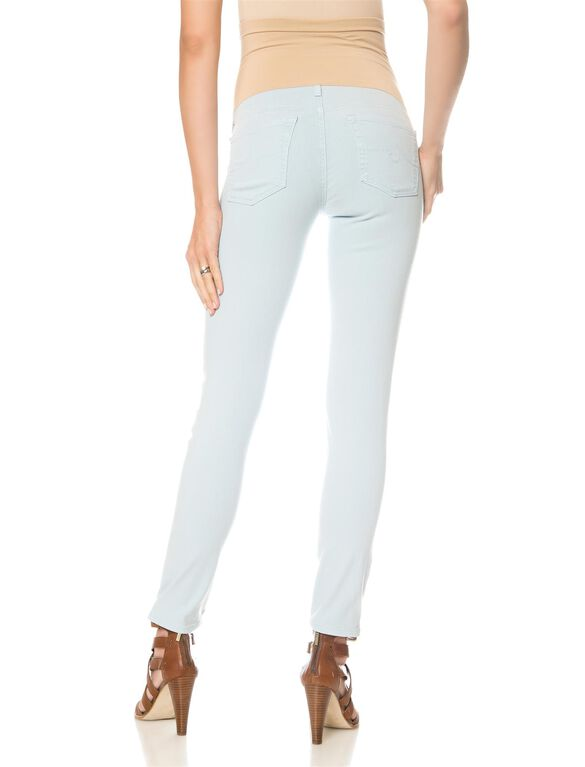 AG Jeans Secret Fit Belly Light Wash Maternity Pants, Sulfur Pale Crystal