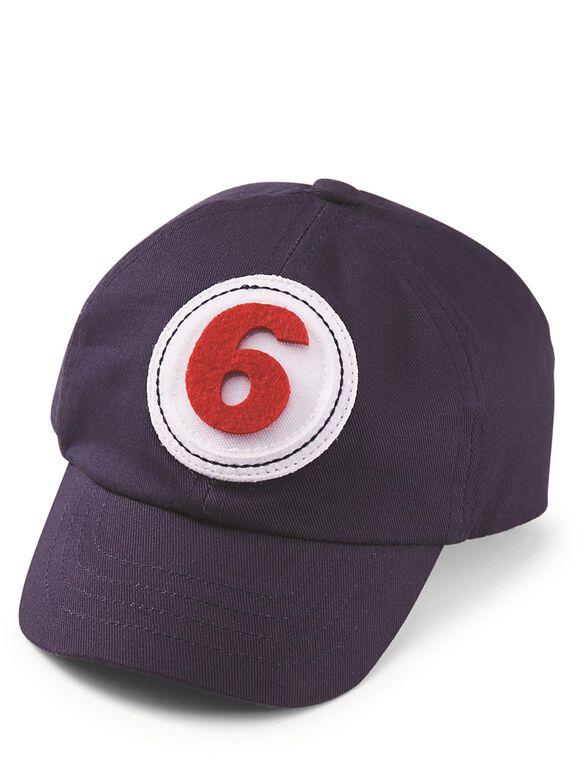 Mud Pie Milestone Baseball Cap, Blue