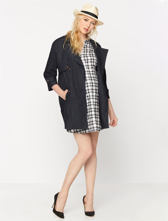 Isabella Oliver Plaid Maternity Dress, Plaid