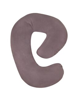 Web Exclusive Snoogle Mini Pillow, Grey Cover
