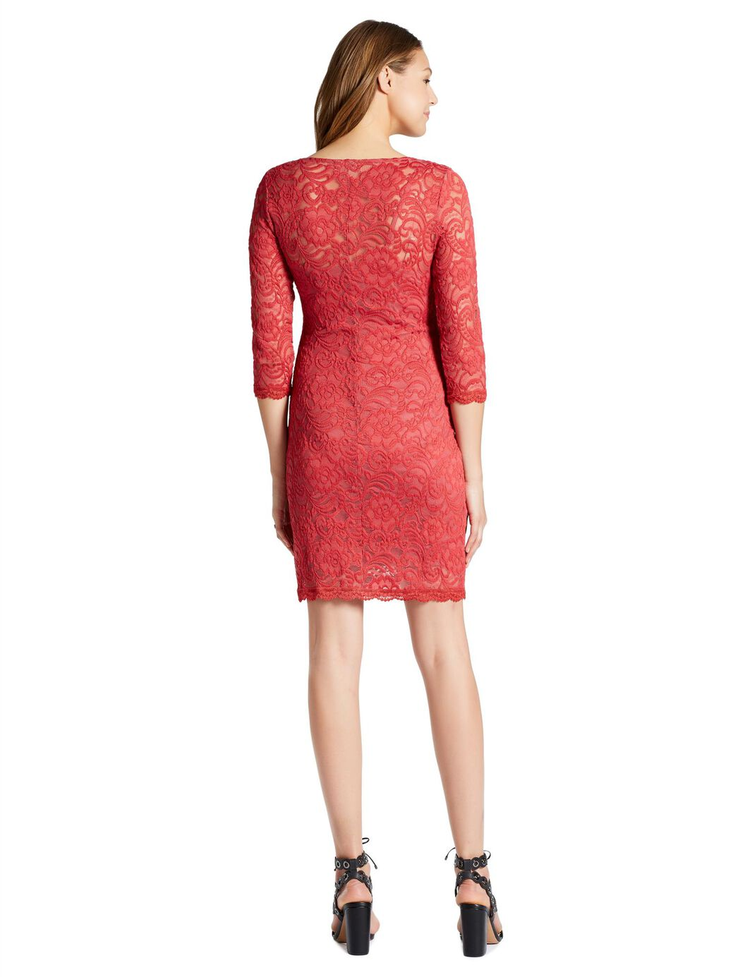 Jessica simpson lace body con maternity dress motherhood maternity jessica simpson lace body con maternity dress holly berry ombrellifo Gallery