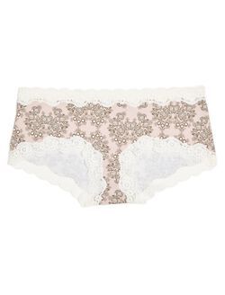 Lace Maternity Girl Short (single)- Print, Pink Floral