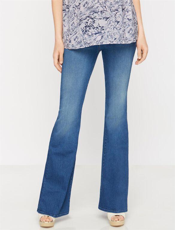 Mother Secret Fit Belly Super Cruiser Maternity Jeans, Blue Moon