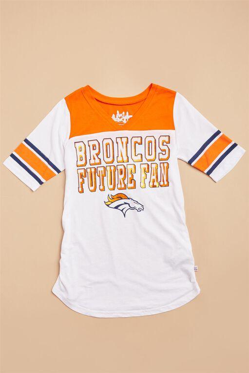 Denver Broncos NFL Future Fan Maternity Tee, Broncos