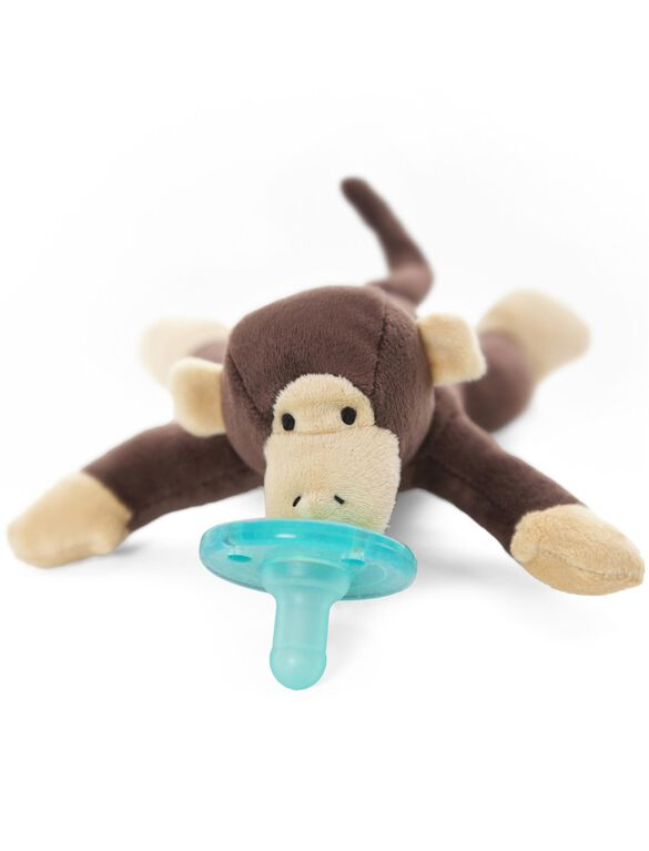 Wubbanub Monkey Infant Pacifier, Monkey