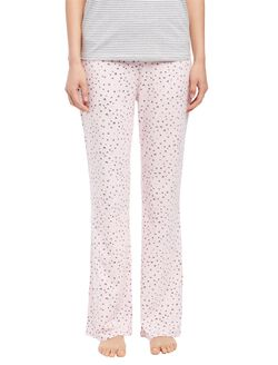 Maternity Sleep Pants- Heart Print, Heart Print