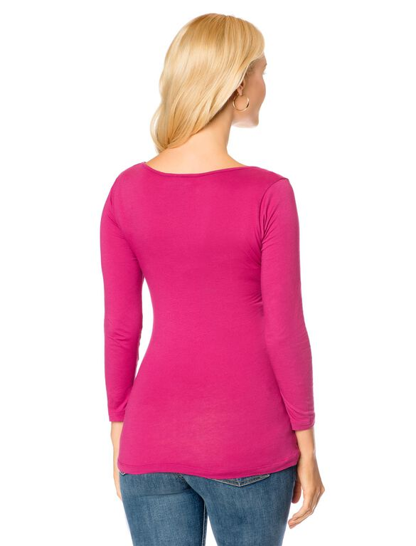 Ruched Maternity T Shirt, Glam