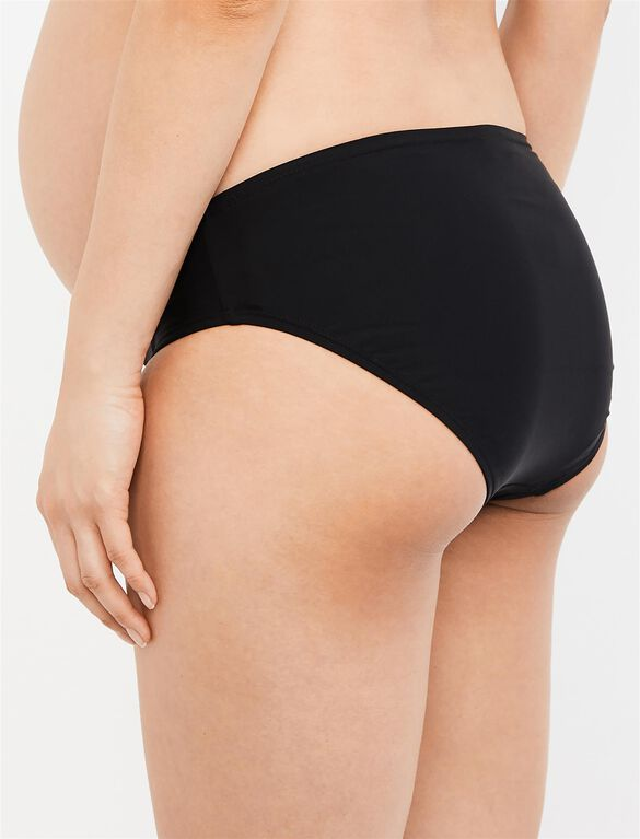 Maternity Swim Bottom, Black