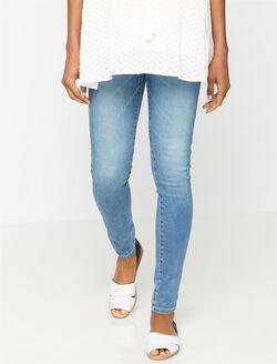 AG Jeans Secret Fit Belly The Legging Maternity Jeans, 18yr Heartbreaker