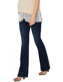 Joe's Jeans Secret Fit Belly Boot Cut Maternity Jeans, Cecily- Dark Wash