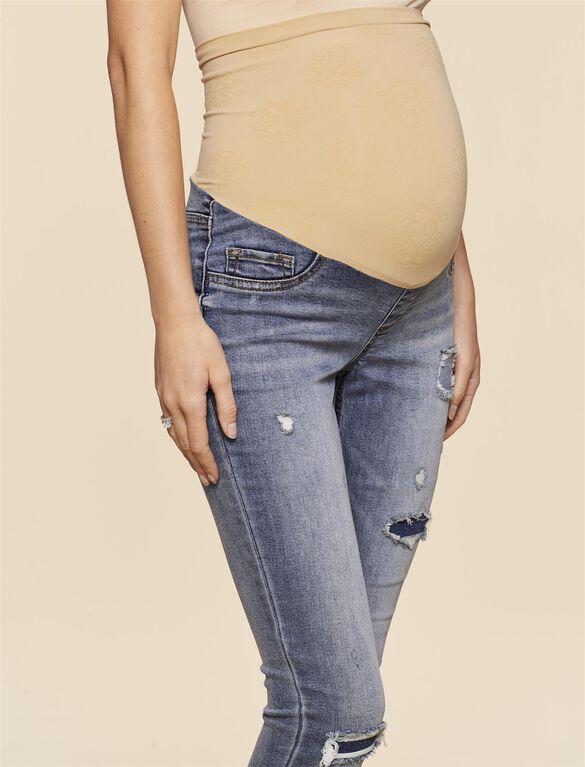 Jessica Simpson Secret Fit Belly Jegging Maternity Jegging, Light Wash