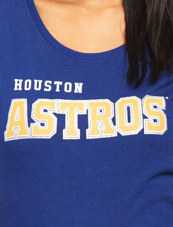 Houston Astros MLB You're Out Maternity Tee, Astros Navy