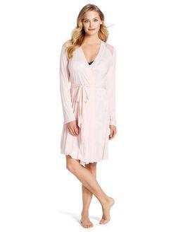 Jessica Simpson Lace Trim Maternity Robe, Potpourri