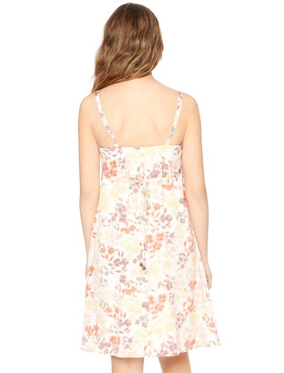 Spaghetti Strap Swing Maternity Dress, Floral