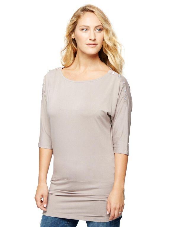 Seraphine Pull Over Nursing Top, Mauve