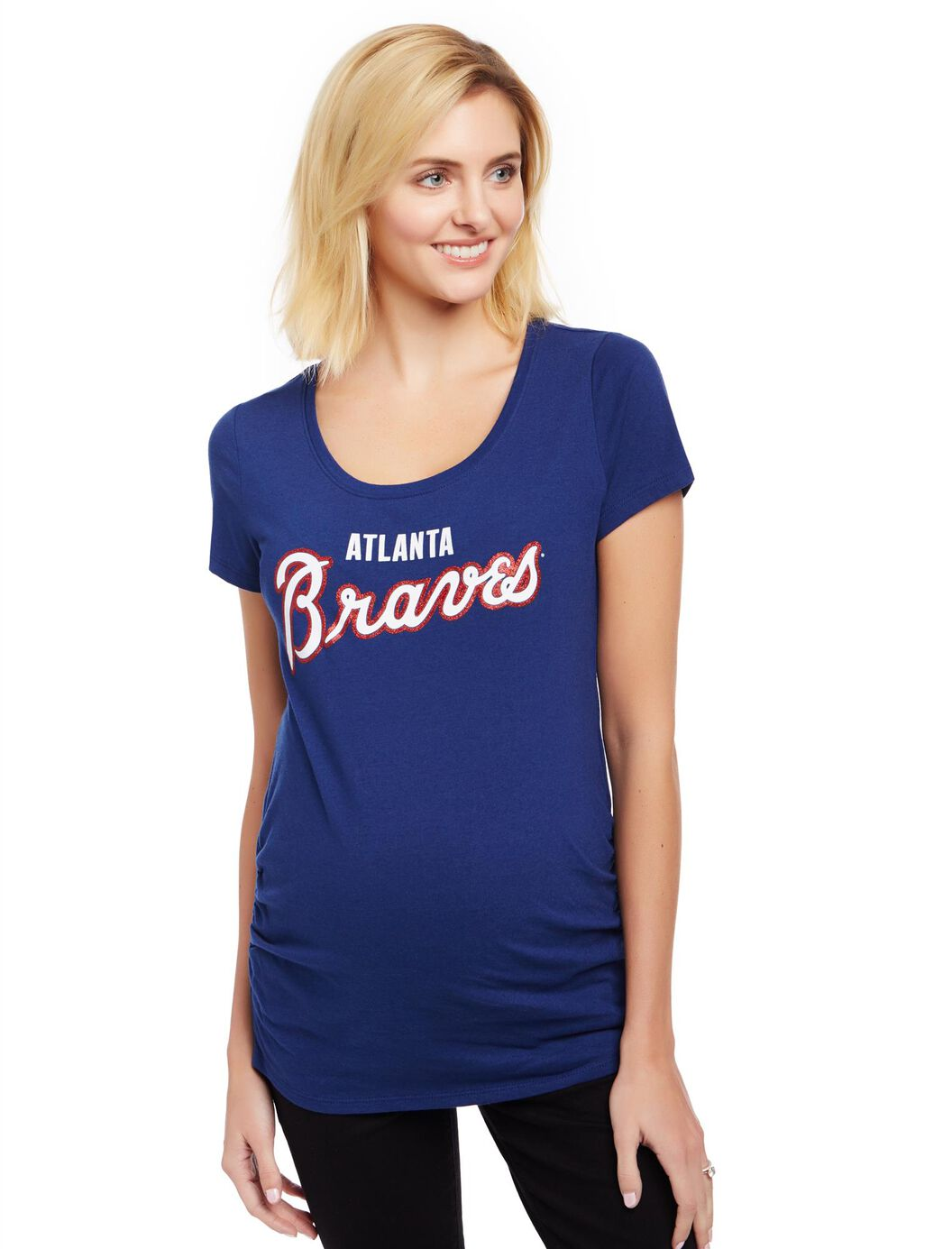 Atlanta Braves MLB You're Out Maternity Tee at Motherhood Maternity in Victor, NY | Tuggl
