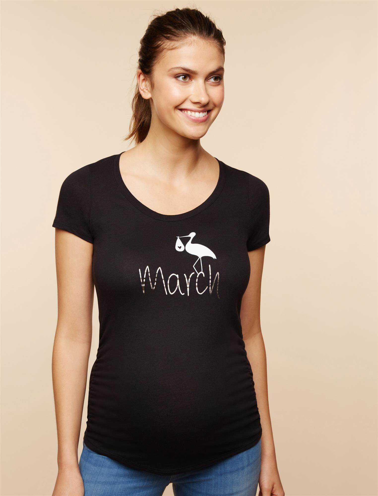 Stork March Maternity Tee