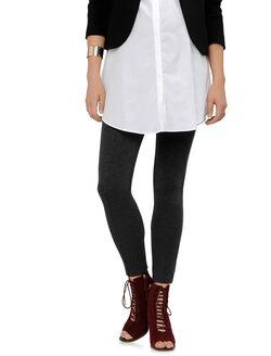 Isabella Oliver Secret Fit Belly Trouser Maternity Leggings, Dark Grey Melange