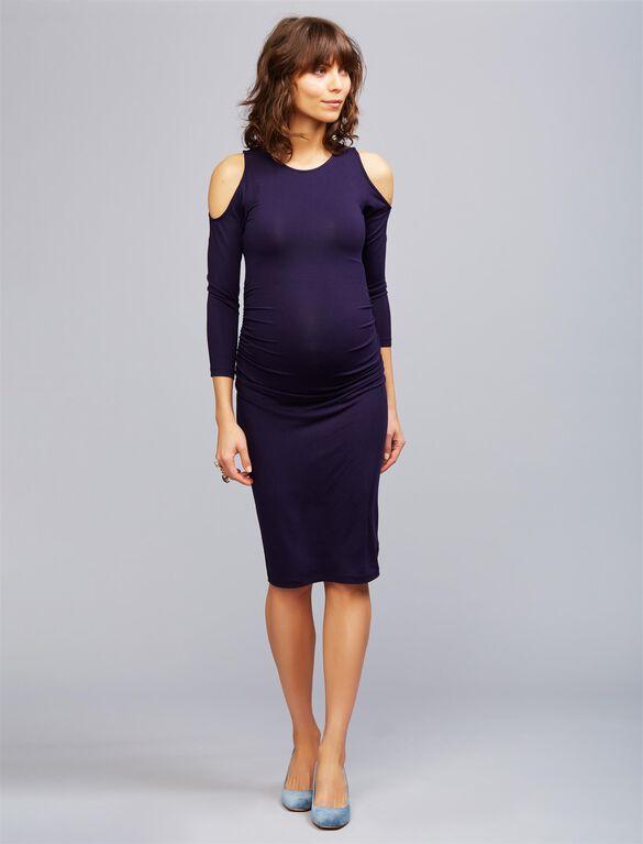Isabella Oliver Anneli Maternity Dress, Navy