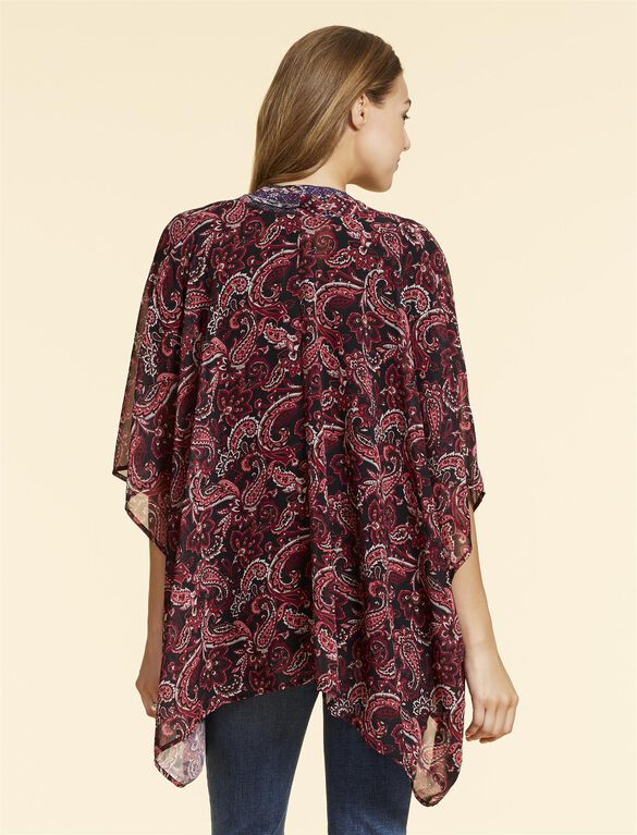 Jessica Simpson Cocoon Maternity Blouse, Pink