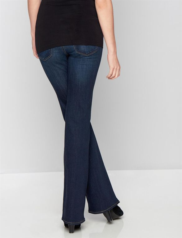 AG Secret Fit Belly Angel Boot Cut Maternity Jeans, Midnight Swim -dark