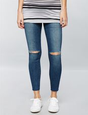 Joe's Jeans Secret Fit Belly The Icon Maternity Jeans- Terri Wash, Terri Medium Wash