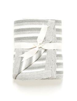 Elegant Baby Blanket, Grey
