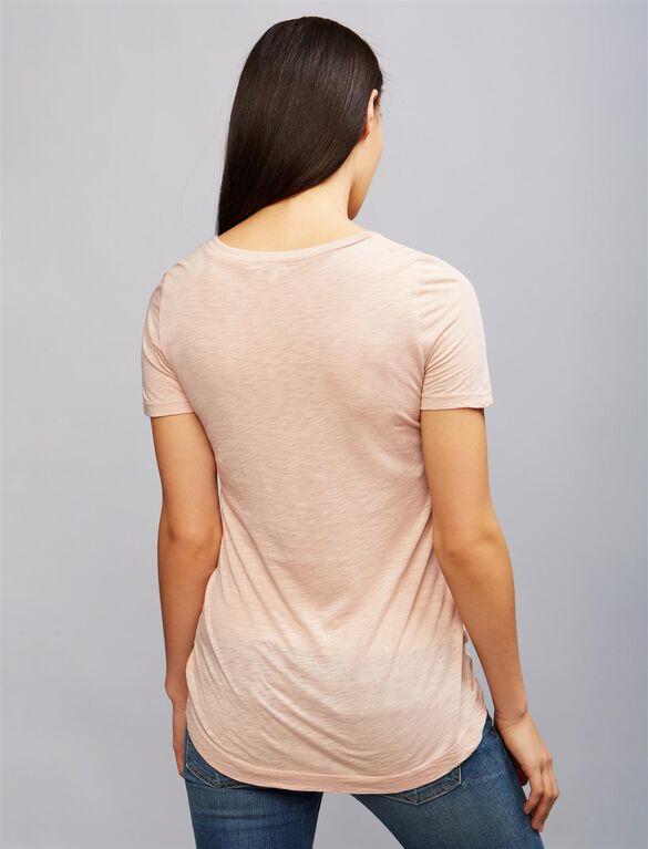 Super Soft Maternity T Shirt, Pink