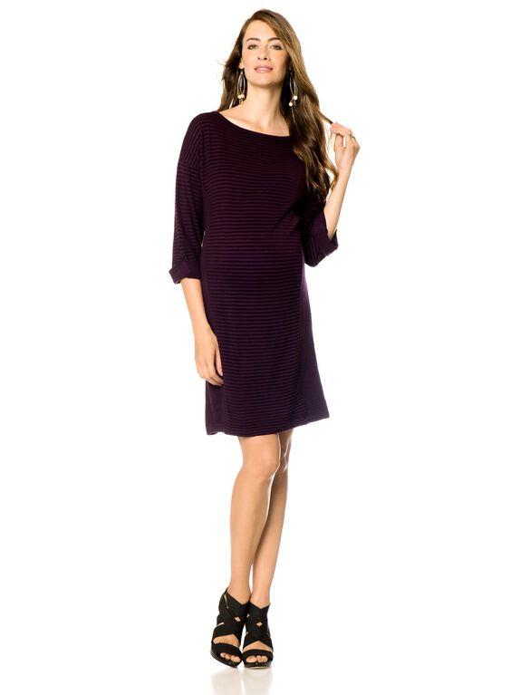 Maternity Dress, Multi Stripe