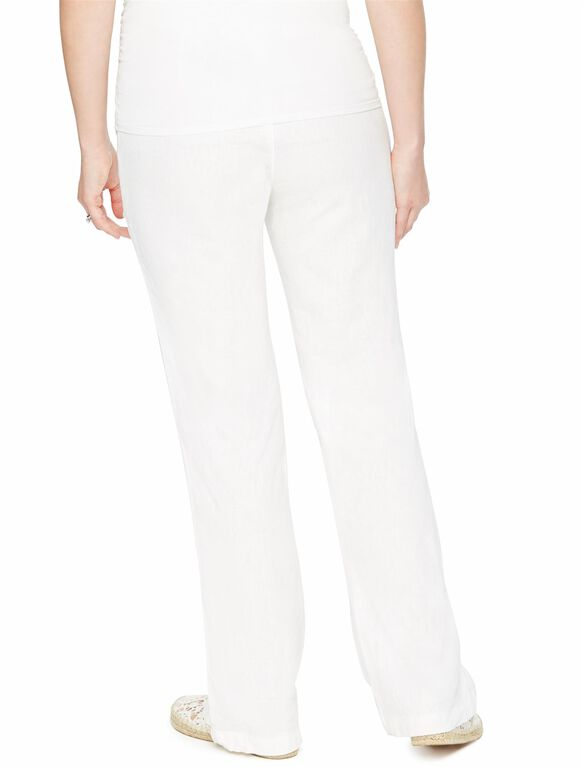 Motherhood Maternity Jeans Size PM. Super Stretch Full Belly Panel Flare Leg. Ankle Opening 12