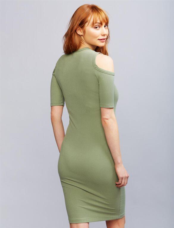 Sen Korie Maternity Dress, Green