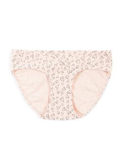 Store Only Maternity Hipster Panties (single), Sketch Heart Print