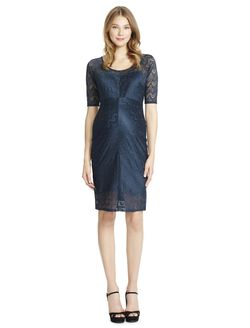 Jessica Simpson Lace Maternity Dress, Evergreen