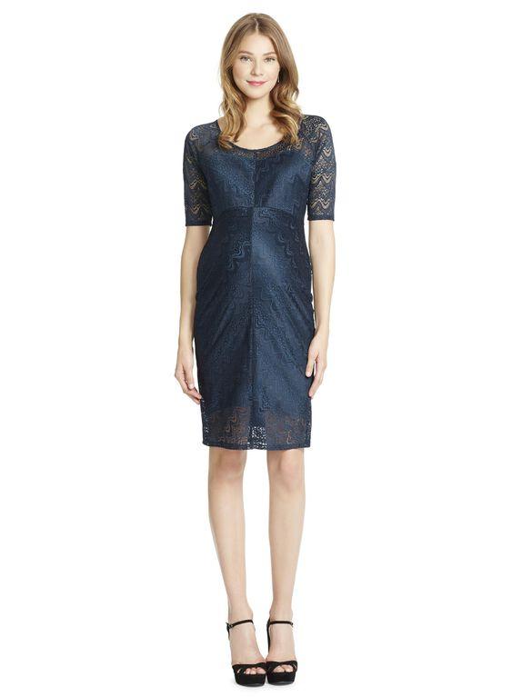 Jessica Simpson Lace Maternity Dress, Evergreen