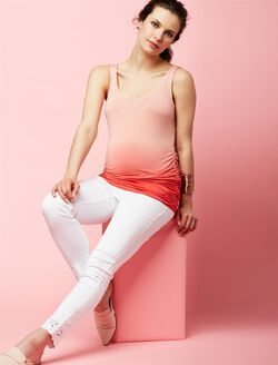 Dipped Tank With Ankle Jean,