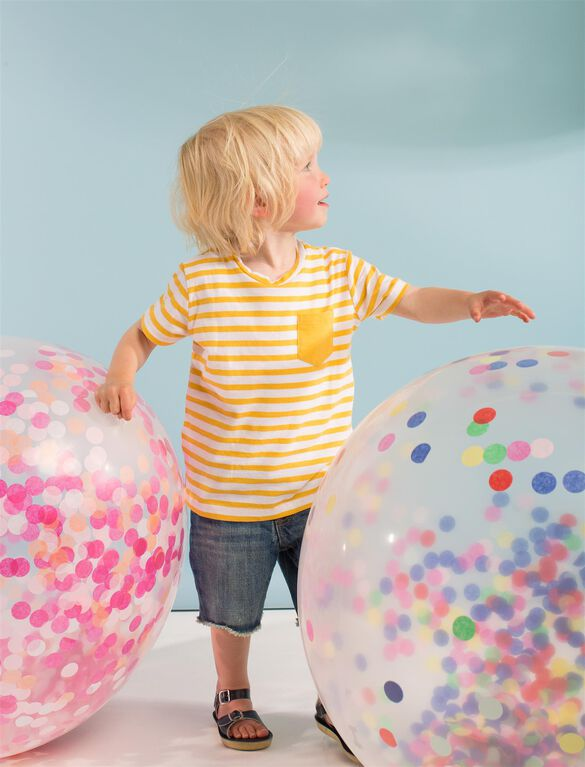 Meri Meri Giant Confetti Balloon Kit, Blue