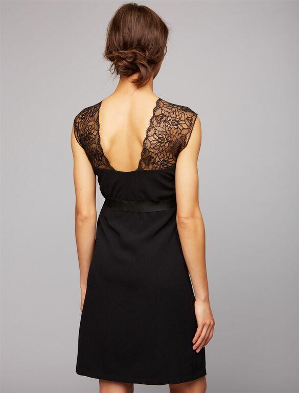 Envie De Fraise Cassandre Maternity Dress, Black