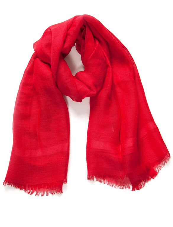 True Love Scarf By Love Quotes, Red