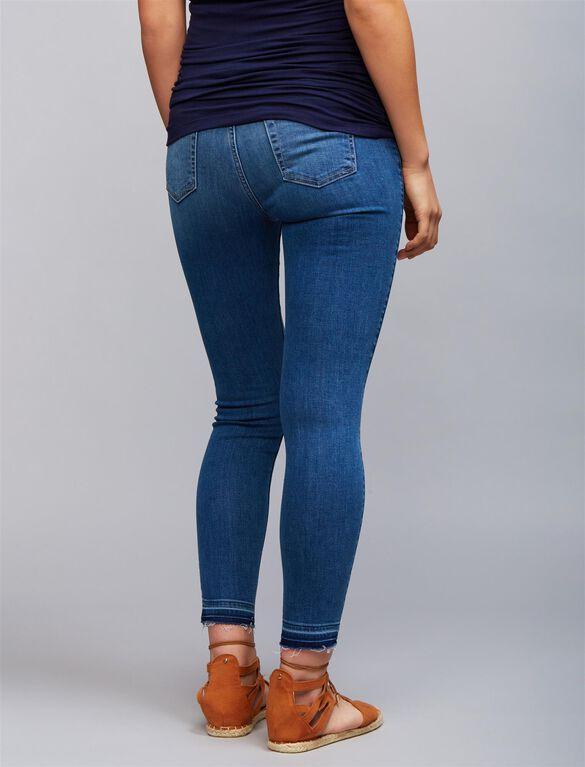 7 For Mankind Secret Fit Belly Skinny Leg Maternity Jeans, Light Wash