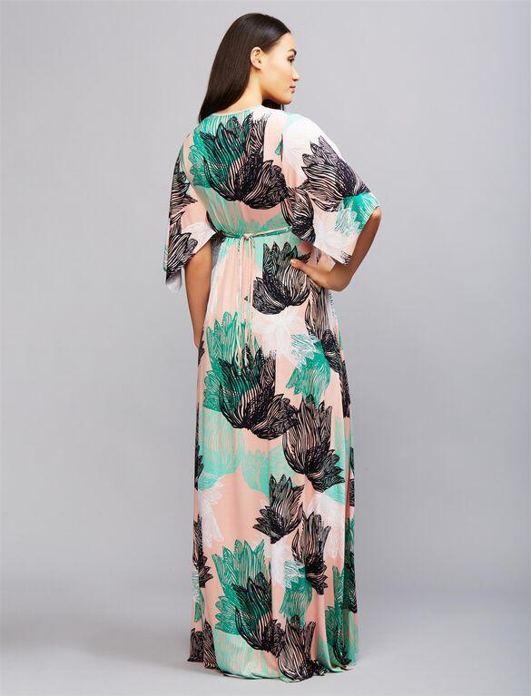 Rachel Pally Caftan Maternity Maxi Dress- Agave Print, Agave Print