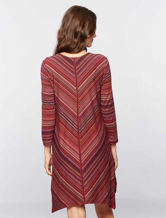 BCBGMAXAZRIA A-line Maternity Dress, Multi Print