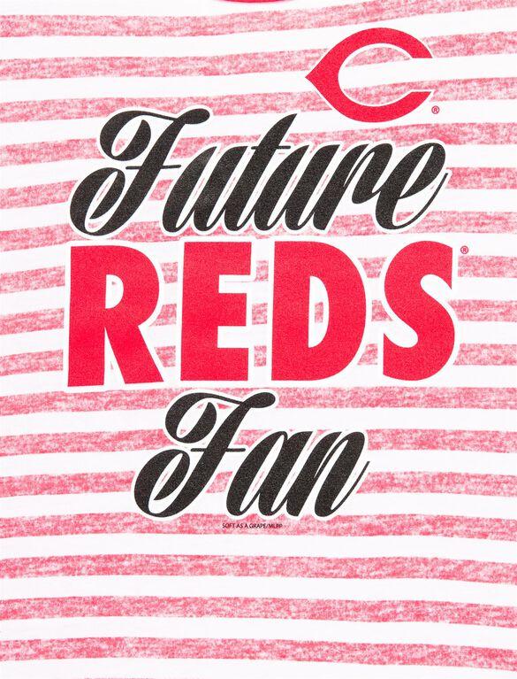 Cincinnati Reds Mlb Short Sleeve Maternity Graphic Tee, Reds