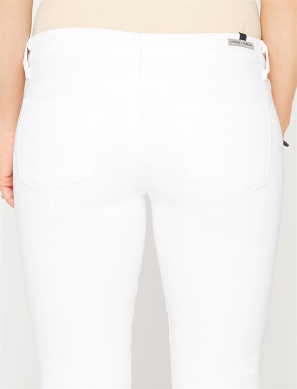 Citizens Of Humanity Under Belly Skinny Leg Maternity Jeans, Optic White
