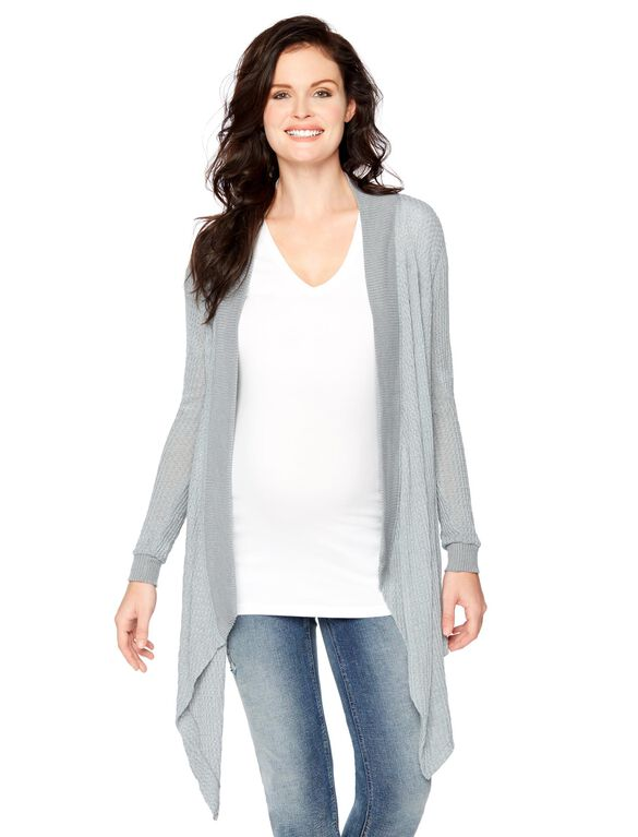 Swing Maternity Sweater, Grey