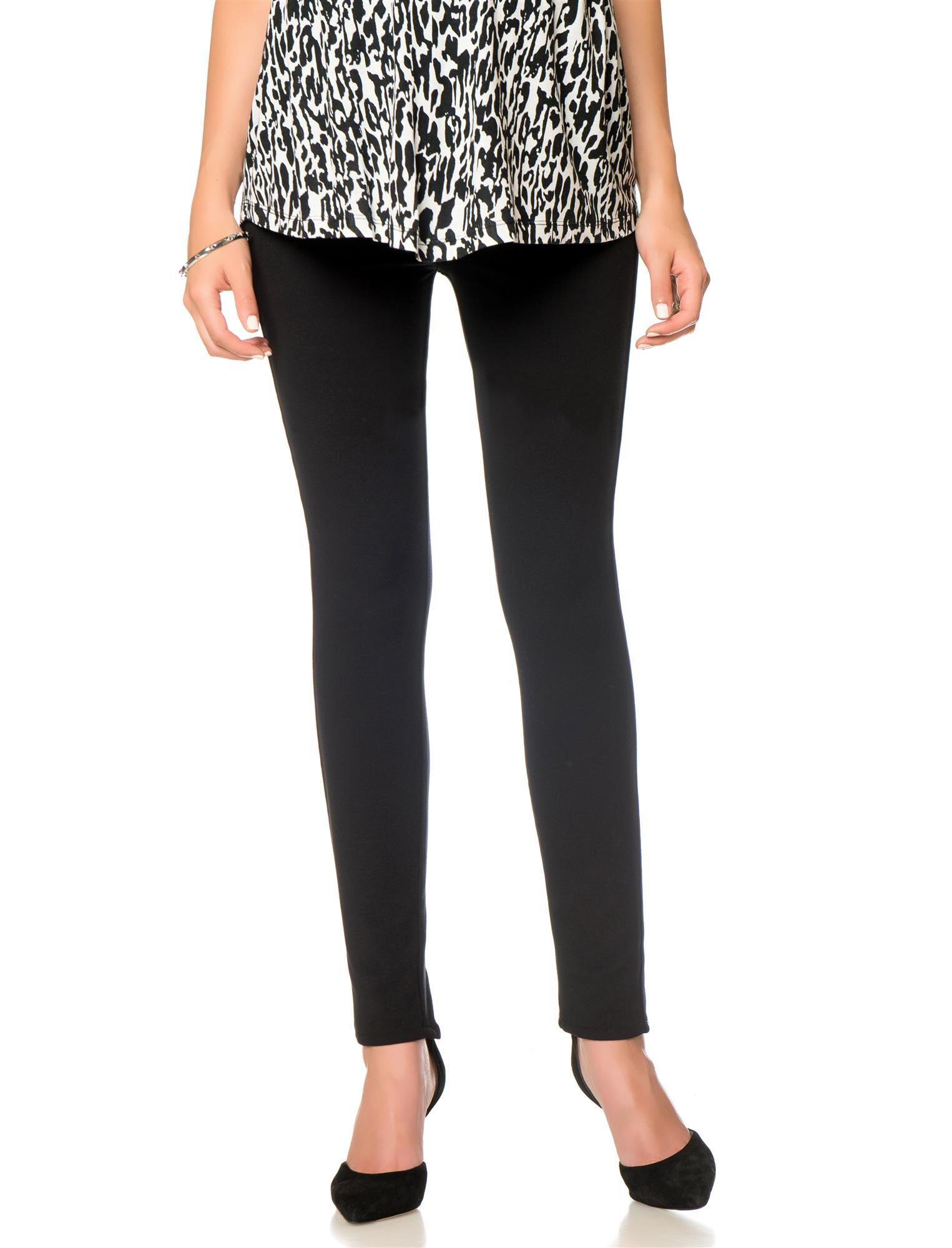 7 For All Mankind Secret Fit Belly Ponte Maternity Pants