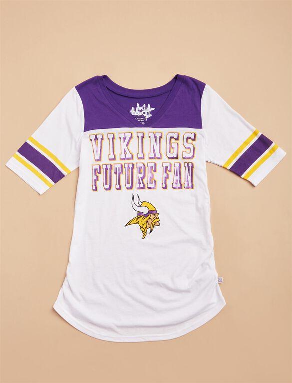 Minnesota Vikings NFL Future Fan Maternity Tee, Vikings