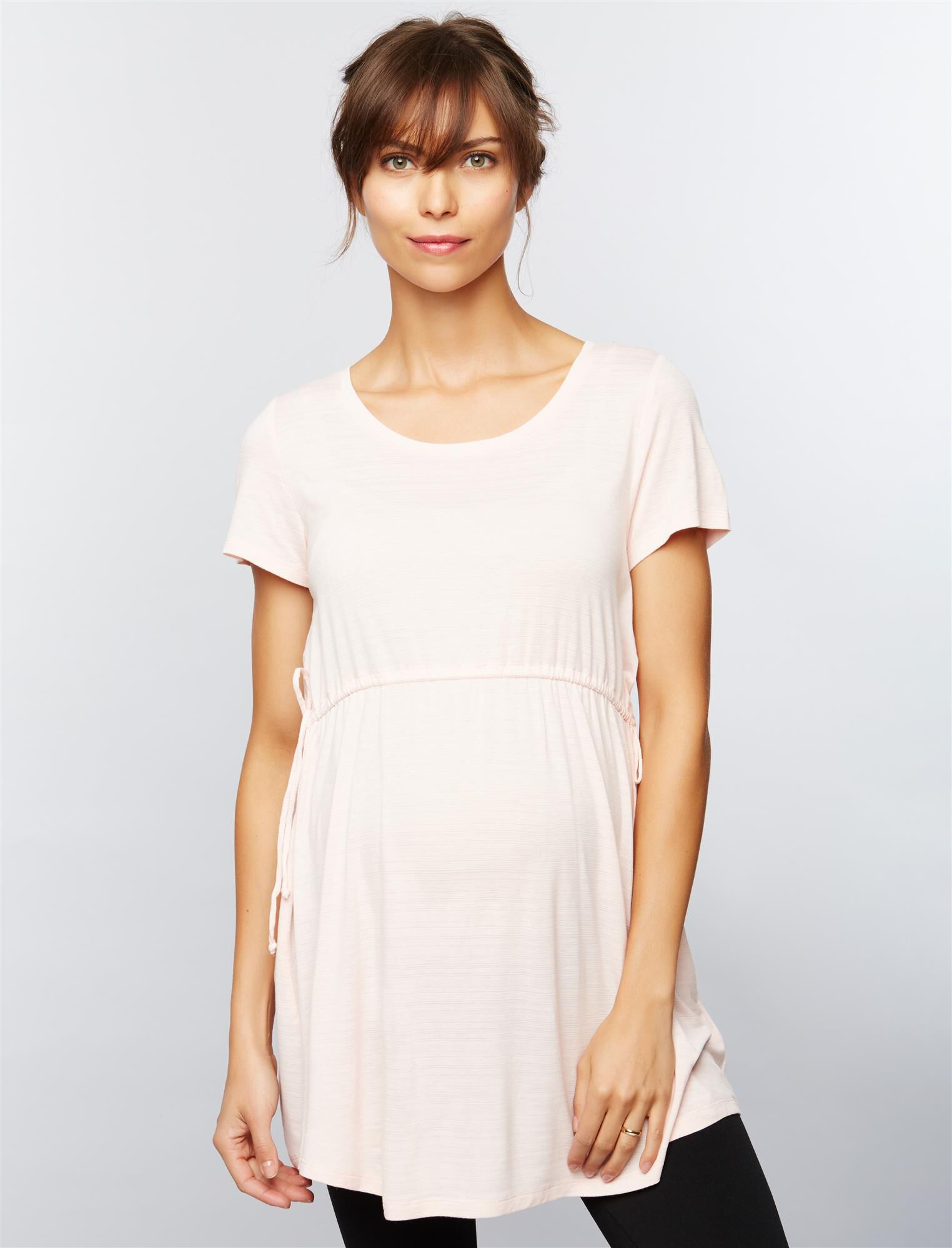 Side Tie Detail Maternity Tunic