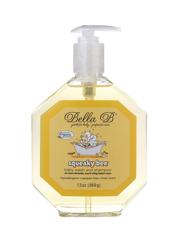 Bella B Squeaky Bee Bodywash & Shampoo, Hair/Body Wash